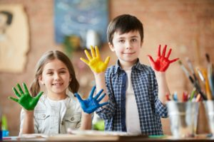 Creative Kids Posing